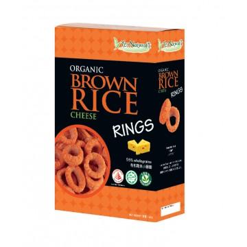 Organic Brown Rice Rings Cheese