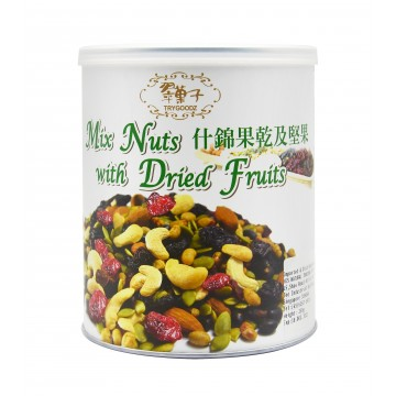 Mix Nuts with Dried Fruits