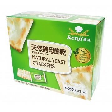 Natural Yeast Crackers