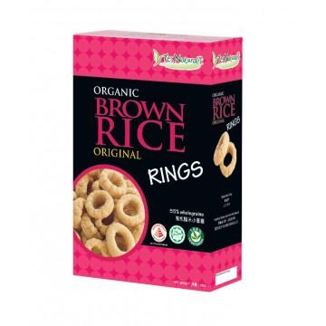 Organic Brown Rice Rings Original