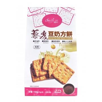 Quinoa Soy Milk Square Crackers