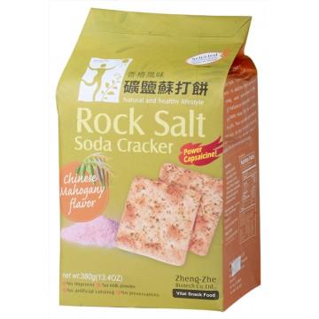 Chinese Mahogany Rock Salt Soda Crackers