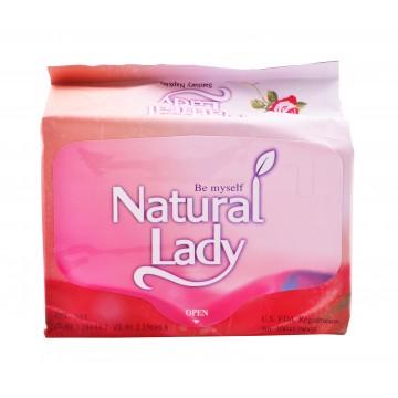 Natural Lady Overnight Sanitary Napkins