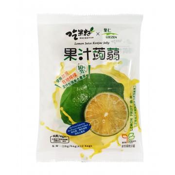 Lemon Juice Konjac Jelly