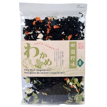 Dried Kelp Bud with Mixed Vegetables