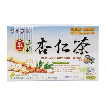 Lotus Root Almond Drink 10 Sachet (less sugar)