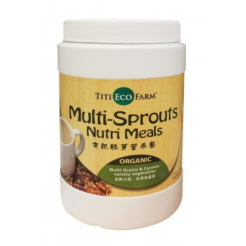 Organic Multi-Sprouts Nutri Meals (bottle)