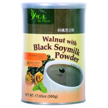 Walnut with Black Soymilk Powder