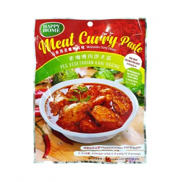 Vegetarian Meat Curry Paste