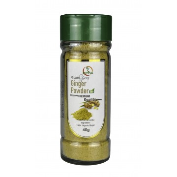 Organic Ginger Powder (bottle)