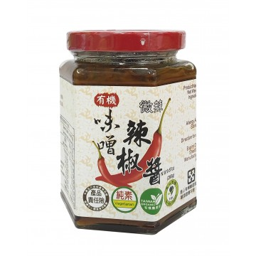 Organic Miso Chili Sauce