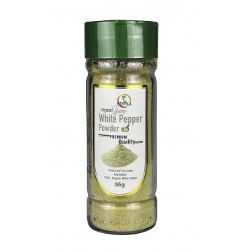 Organic White Pepper Powder (bottle)
