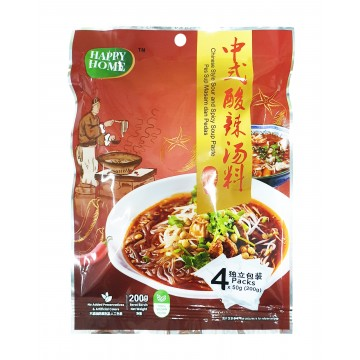 Chinese Style Sour and Spicy Soup Paste