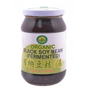 Organic Black Soy Bean (Fermented)