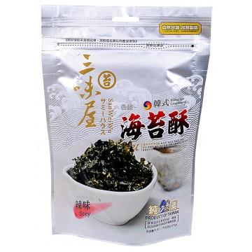 Spicy Korean Style Crispy Seaweed