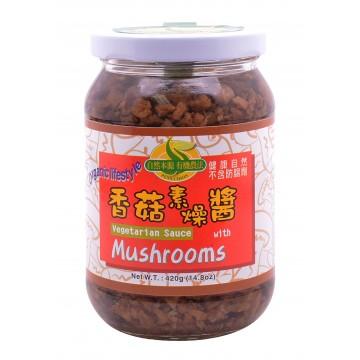 Vegetarian Sauce with Mushrooms