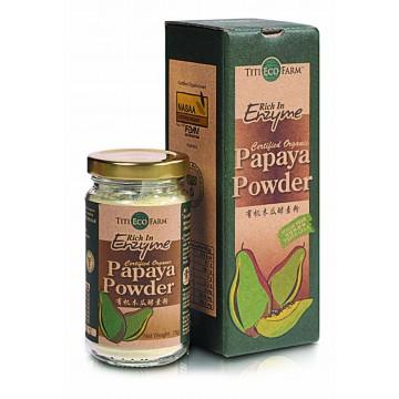 Organic Papaya Powder - Bottle